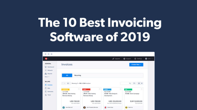 10 Best Invoicing Software for Small Businesses & Accountants in 2019