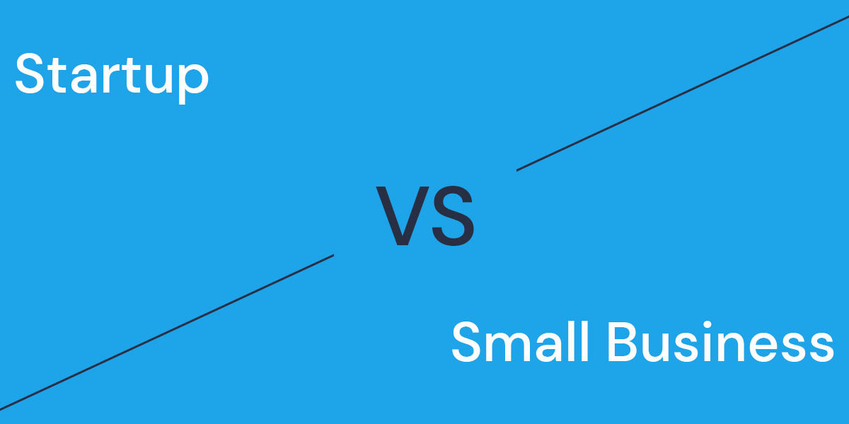 startup vs small business in 2020